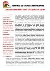 20131016 tract projet de loi reforme ferroviaire