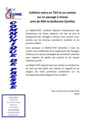 communique de presse fgaac cfdt 16 oct 2013