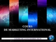 cours de marketing laye bamba seck 11