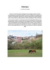Fichier PDF histoire region