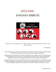 welcome santana dossier de presse