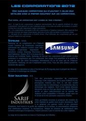les corporations 2072