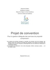 projet de convention casablanca