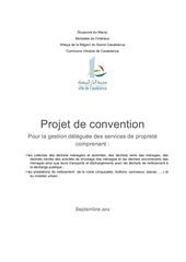 Fichier PDF projet de convention casablanca