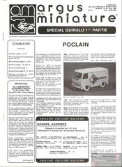 Fichier PDF argus miniature poclain