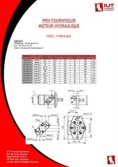 fournisseur moteur hydraulique