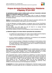 mission d information parlementaire