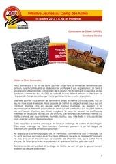 20131016 conclusions camp des milles g garrel
