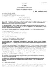 c etat recours cfdt decrets spp 2012