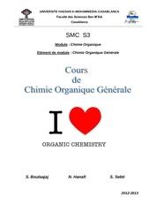 Fichier PDF cours de chimie organique smc s3