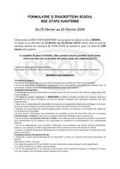 formulaire d inscription ski risoul 2014