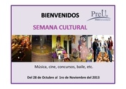 semana cultural promocional