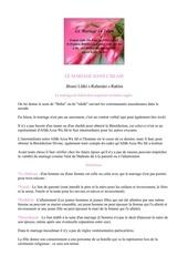 Fichier PDF le mariage dans l islam
