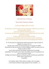 Fichier PDF difficultes dans le mariage