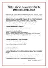 Fichier PDF petition du protocole de conge actuel