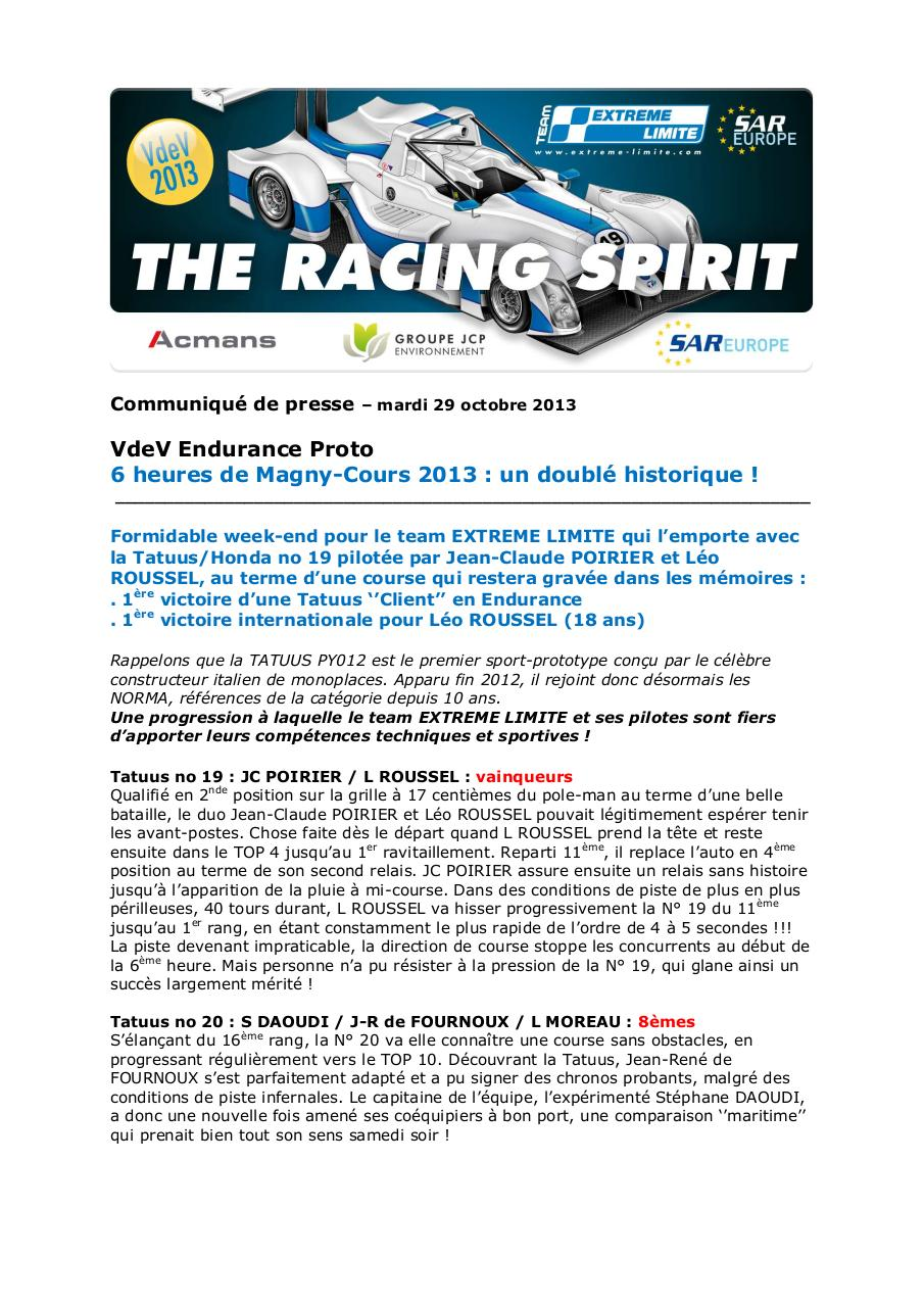 Team EXTREME LIMITE_Magny-Cours 2013.pdf - page 1/2