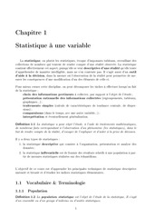 cours statistique