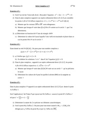 equations a coefficient complexe bac math serie n 3