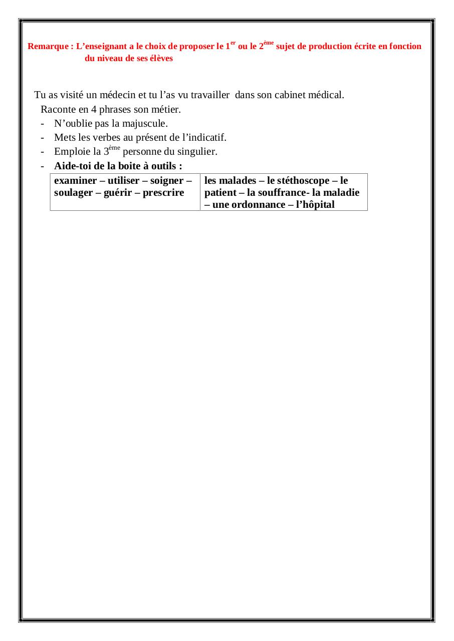 Aperçu du document Evaluation du mois d.pdf - page 2/2