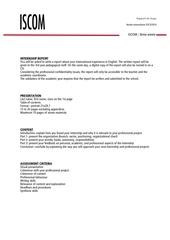 internship report 2013 2014 0 1
