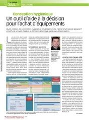 article process magazine conception hygienique h dat