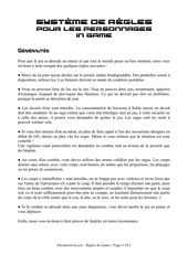 Fichier PDF les regles in game version 2 0