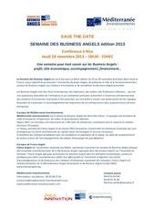 med invest communique semaine ba oct 2013