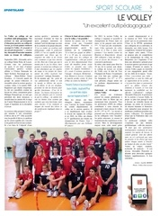 sportsland 9b p5 volley scolaire