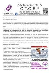 ctce declaration sud 17 10 2013