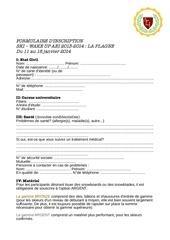 Fichier PDF formulaire ski