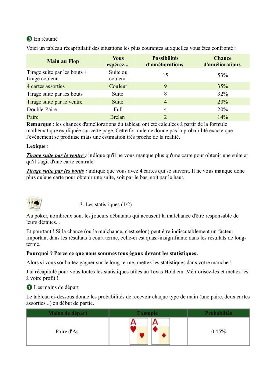 Apprendre a jouer au poker pdf tunica poker cash games