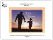 rapport d activite 2012 2013 services aux origines