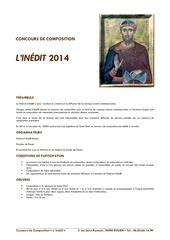 Fichier PDF reglement concours l inedit 2014