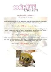 Fichier PDF caviar