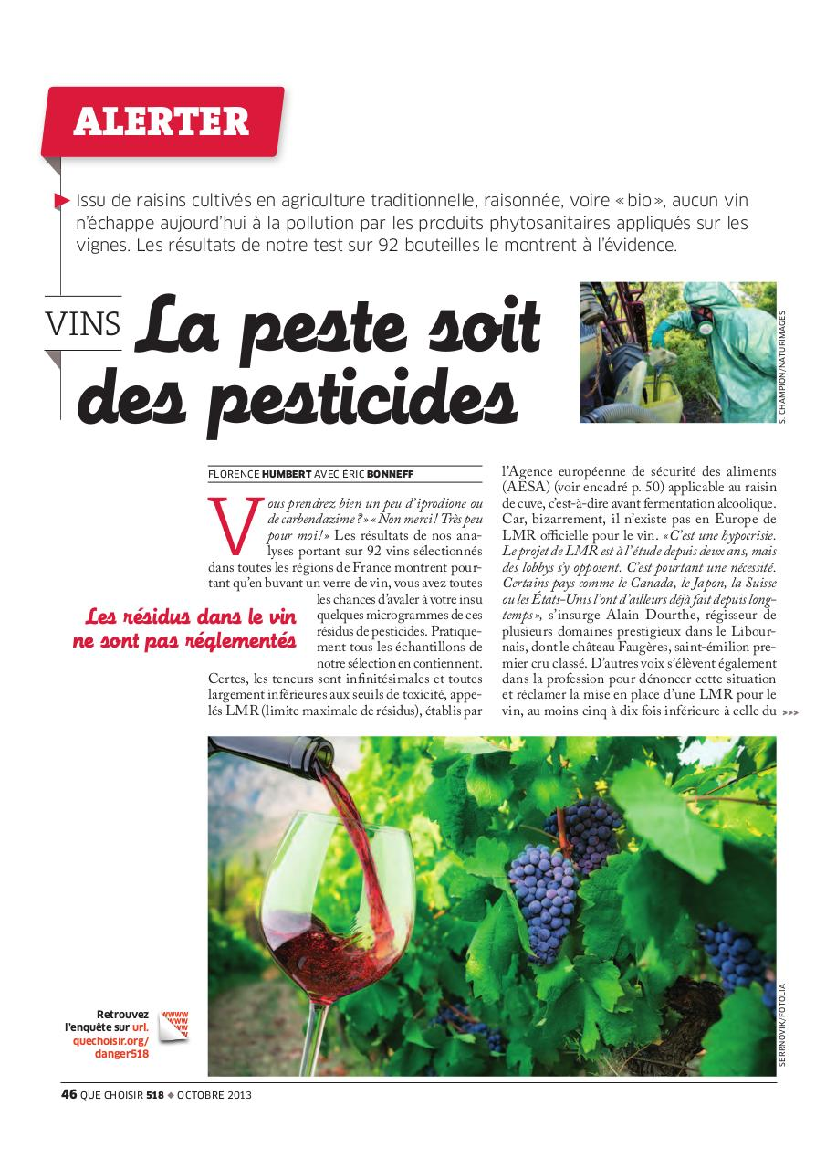 Aperçu du document Pesticides dans le vin 518.pdf - page 1/5