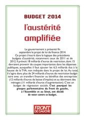 fdg budget 2014 4 p