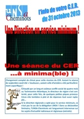 tract cer du 31 10 13
