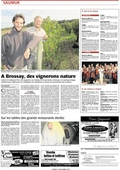 article courrier de l ouest 02 11 2013