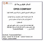 opes presentation par younes mahdi