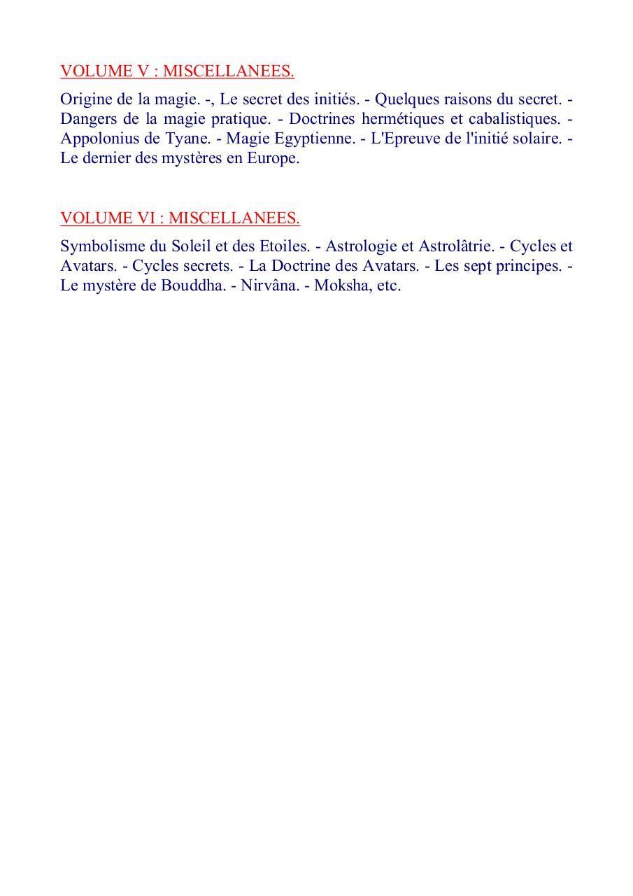 La Doctrine Secrete Blavatsky Pdf