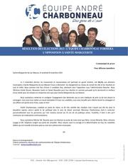 cp rEsultats des Elections 2013