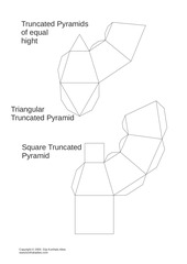 truncated pyramids equal hight