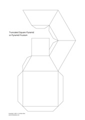 Fichier PDF truncated square pyramid