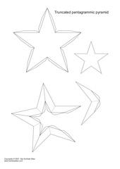 truncated star pyramids