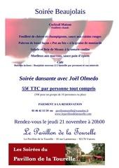 soiree beaujolais le 21 11 2013 au pavillon de la tourelle