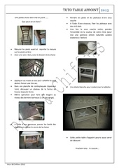 Fichier PDF tuto table d appoint