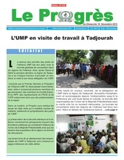 journal le progres edition n 338 du 10 novembre 2013