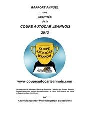 rapport annuel coupe autocar jeannois 2013 1