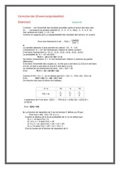 Fichier PDF probabilite correction 20 exercices