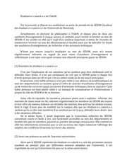lettre de candidature au poste de presidente du sEsum